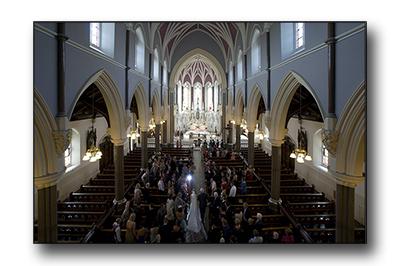 Studio63 wedding, st johns church kilkenny